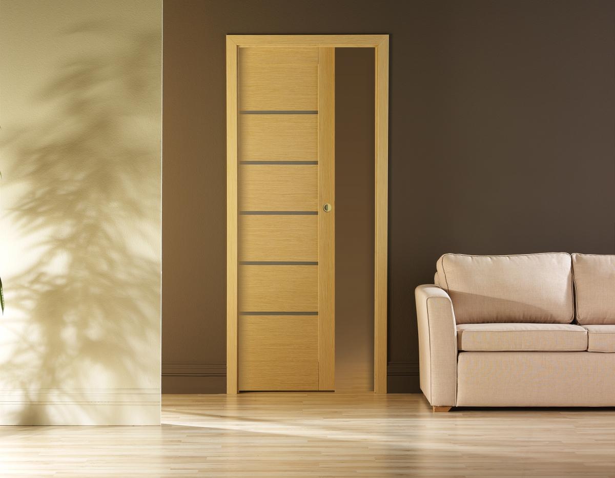 Раздвижные задвижные в стену двери, межкомнатные двери 18